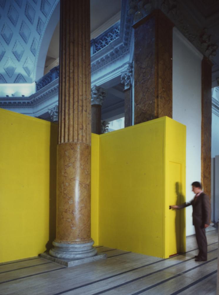 Entrata Palazzo Delle Esposiziono Rom 1991
