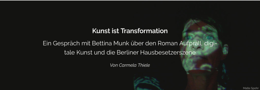 Gespräch mit Carmela Thiele DebatteMuseum